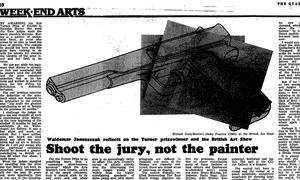 Turner prize 1984
