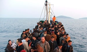 A ship with 184 would-be immigrants