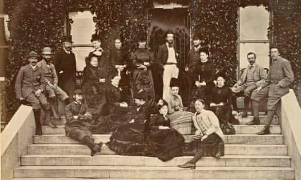 Oscar Wilde at Ashford Castle in 1878