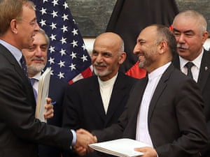 US-Afghan security deal.