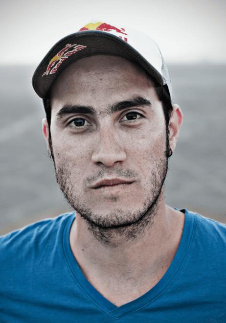 Jhonathan Florez, wingsuit flyer