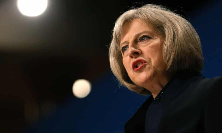 Home Secretary Theresa May: fancies her chances as Tory leader.