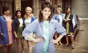 Gemma Arterton in Made in Dagenham: The Musical, adapted for the stage by Richard Bean.