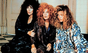 Cher, Susan Sarandon and Michelle Pfeiffer in The Witches of Eastwick
