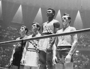 Clay was just 18 when he won Olympic gold in 1960 in the light heavyweight category. Just look how callow he appears, particularly in comparison to the guys to his left and right, who look like 40-year-old bricklayers in comparison.