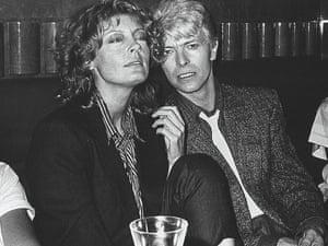 Sarandon with David Bowie
