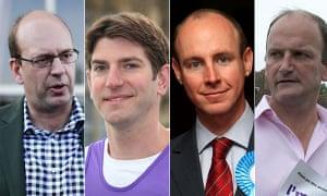 Mark Reckless, Chris Kelly, Daniel Hannan, Douglas Carswell.