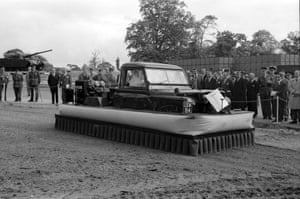 An amphibious vehicle as an archive of weird and wacky innovations has been unearthed by an amateur historian as he trawled through a collection of images spanning the last 100 years.