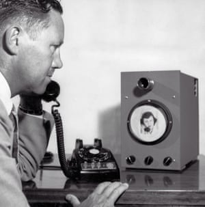 An early version of a videophone