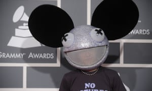 Electro musician Deadmau5