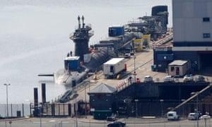 Faslane - HM Naval Base, Clyde (HMNB Clyde; also HMS Neptune)