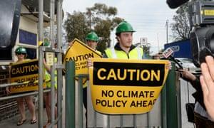 Tony Abbott 2013 victory climate