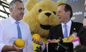 Tony Abbott 2013 victory business