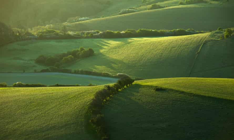 South Downs National Park near Wilmington, East Sussex