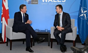 David Cameron and Anders Fogh Rasmussen