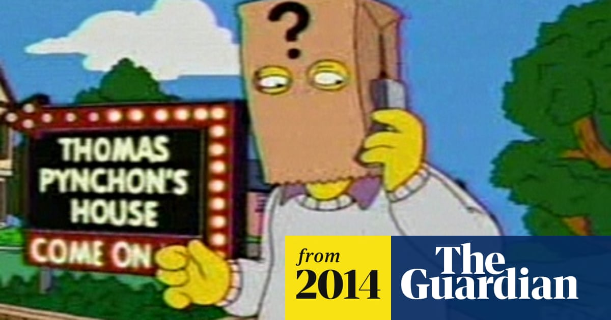 Thomas Pynchon edited Homer slight from Simpsons episode
