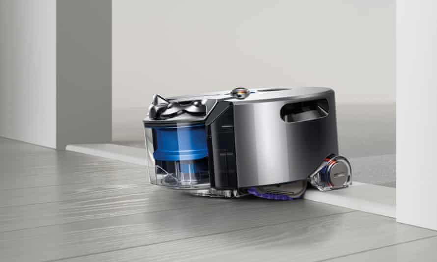 Dyson 360 Eye robot vacuum cleaner.