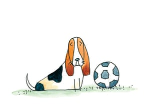 Basset Hound: Sad-looking, inquisitive dogs with an outgoing nature.