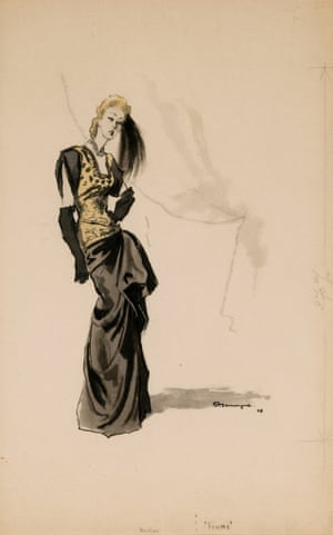 Illustration for Femme by Pierre Mourgue, 1946