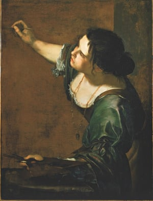 Self-Portrait as the Allegory of Painting (c 1638-39) by Artemisia Gentileschi.