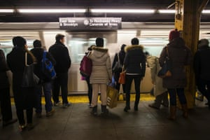 The New York City Subway, 110 years old this year, is one of the very few that offers 24 hours service