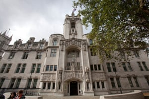 The Supreme Court, Parliament Square, London.