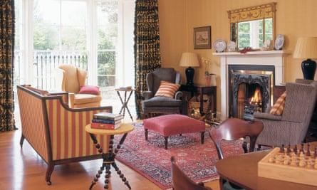 Cloister House Living Room