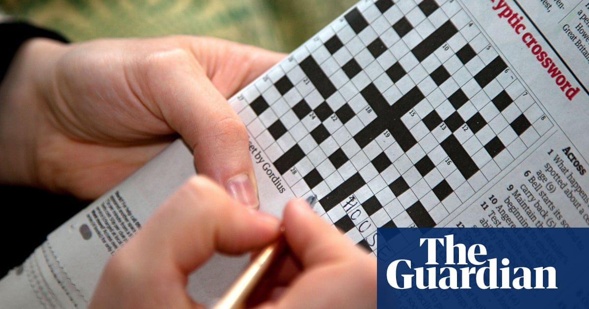 How To Solve A Cryptic Crossword Crack 10 Of Our Clues Crosswords The Guardian