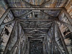 Stepwell #4 Sagar Kund Baori, Bundi, Rajasthan, India, 2010