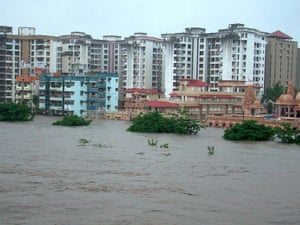 flooding in Surat, India