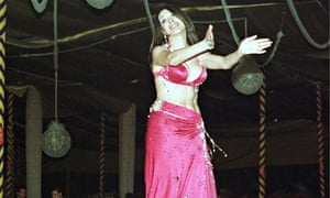 Dina, one of Egypt's top belly dancers,