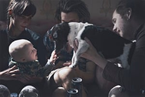 Taylor Wessing prize: David Titlow's photo of his son meeting a dog