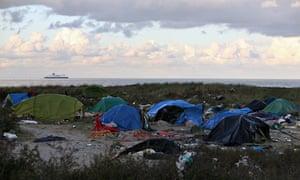 Calais encampment