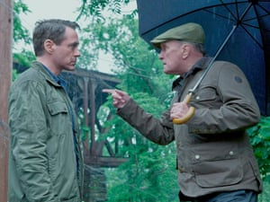 Robert Downey Jr and Duvall in The Judge