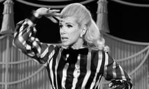 Joan Rivers on an episode of The Carol Burnett Show in 1970.