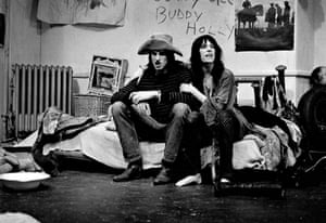 Shepard and Patti Smith