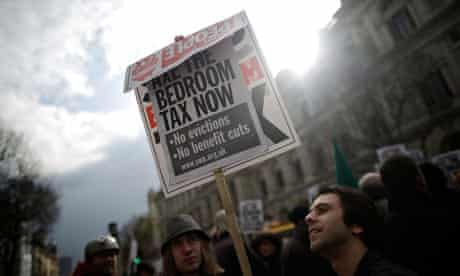 Bedroom Tax Bill Splits Coalition As Lib Lab Pact Forces Second Reading Bedroom Tax The Guardian