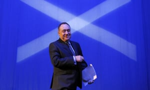 Scotland's First Minister and Scottish National Party (SNP) leader Alex Salmond.