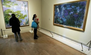 A Monet exhibition at the Royal Academy of Arts in 2007