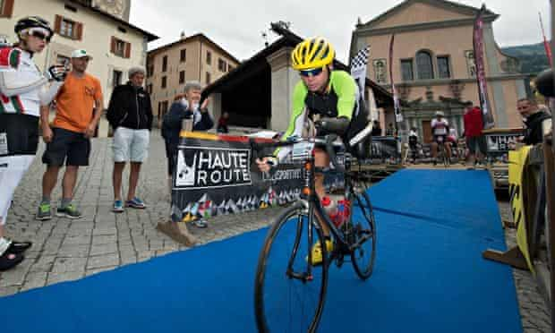The incredible Christian Haettich completes Haute Route Dolomites Day 7