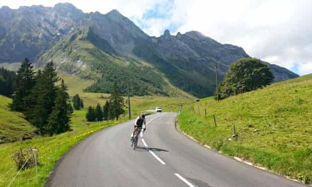 Haute Route Alps Compact - fast descent
