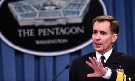 Pentagon press secretary