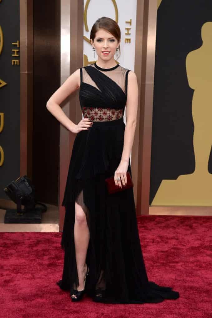 Anna Kendrick at the 2014 Oscars