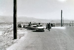 Political martyrs memorial rally, Almarg village, 1977