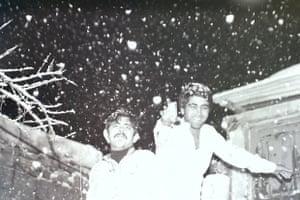 Brothers Khader and Mohammed Alkarssifi, Baalbeck, 1977
