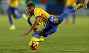 Neymar Brazil Colombia Miami