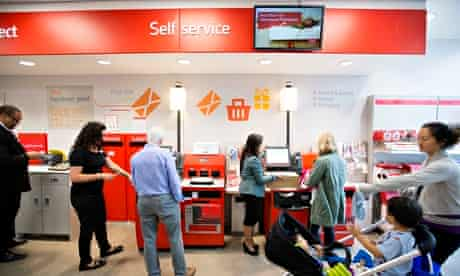 A revamped Post Office branch in London