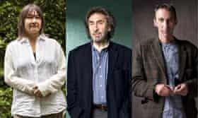 Ali Smith, Howard Jacobson and Will Self