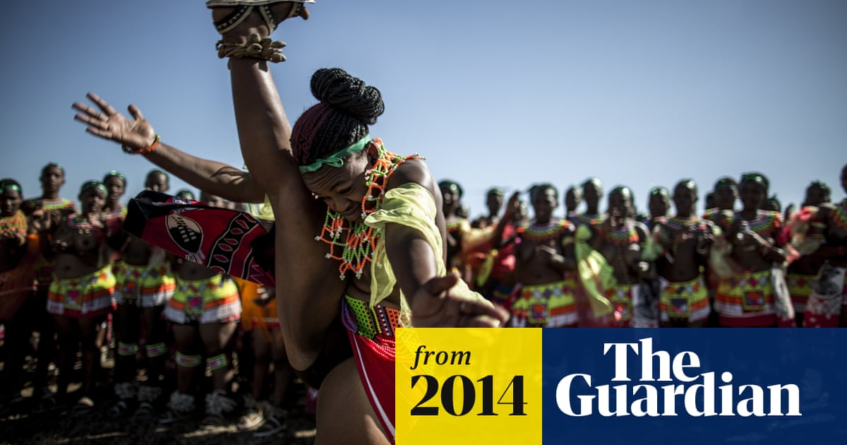 South African 'maidens' perform annual reed dance - in pictures