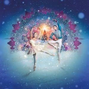 The Scottish Ballet's Sophie Martin and Christopher Harrison in The Nutcracker